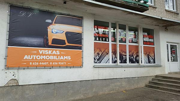 Autodetalių parduotuvė, D. Vepštos IVV