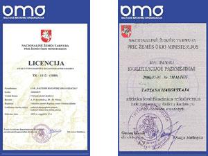Baltijos matavimų organizacija, UAB