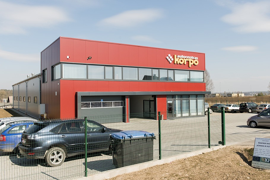 Korpo autocentras, UAB
