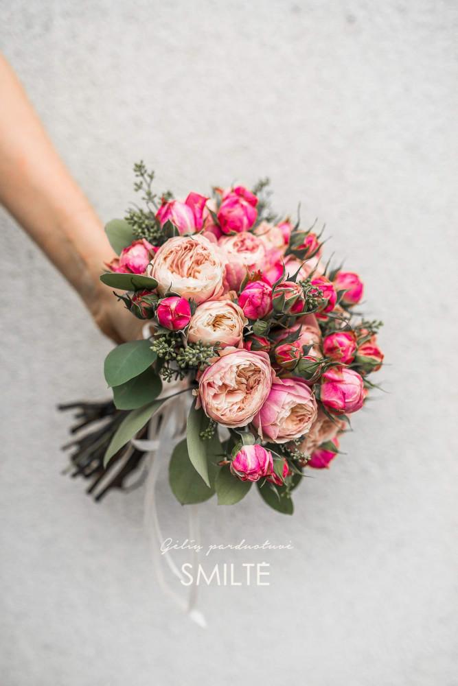 Smiltė, gėlių parduotuvė