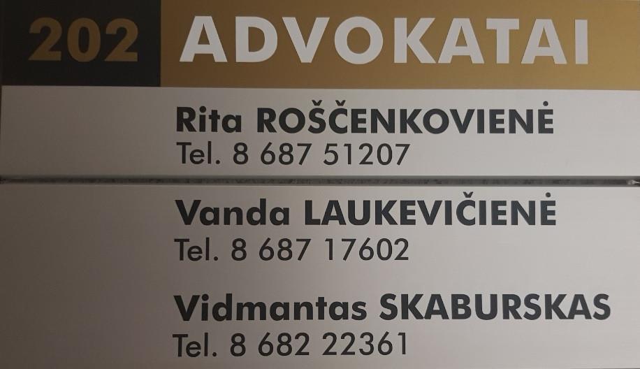 V. Skabursko advokato kontora