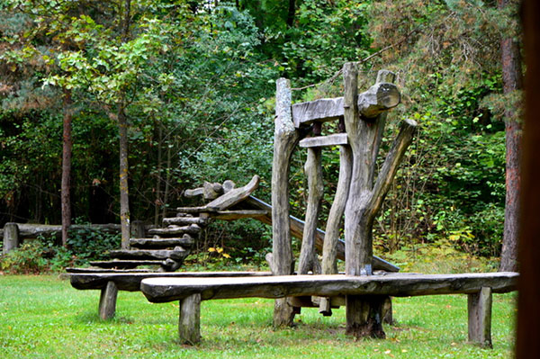 Valstybinių miškų urėdija, Pakruojo regioninis padalinys, Rozalimo miško parkas ir pažinimo takas, VĮ