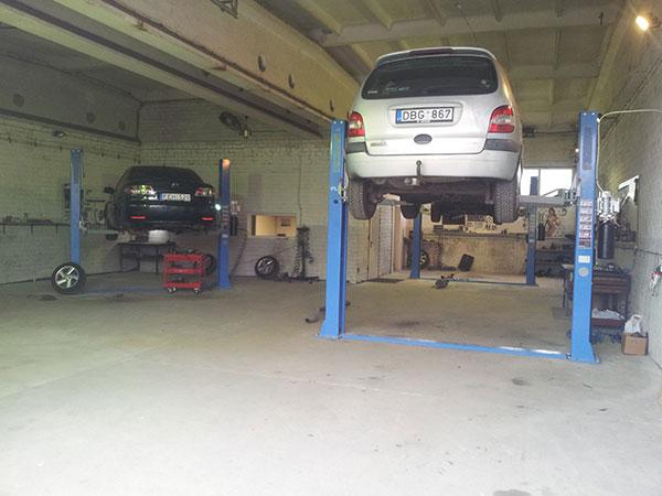 Lengvųjų automobilių remontas