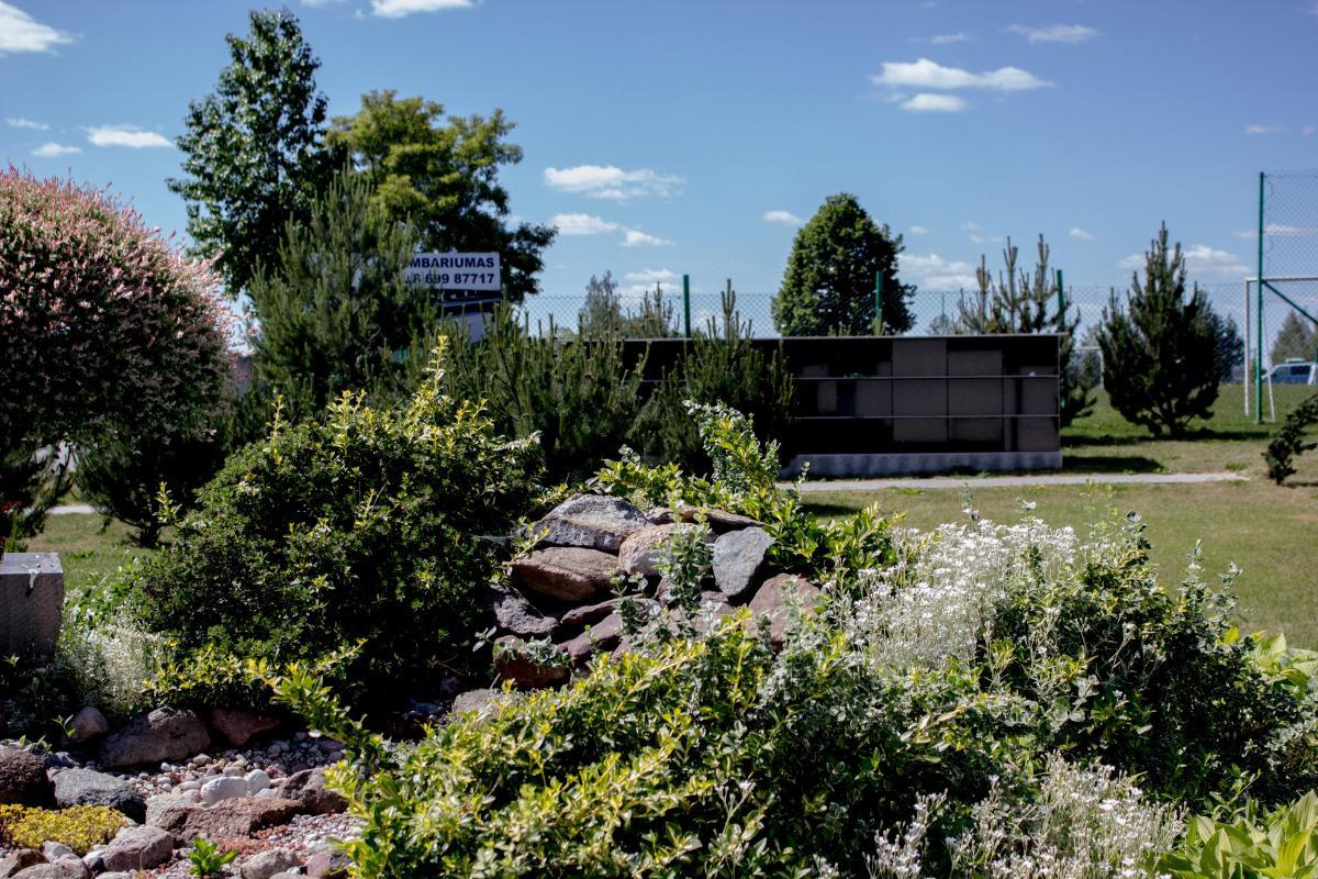 Gedulo rūmai, laidojimo paslaugų biuras, šarvojimo salė