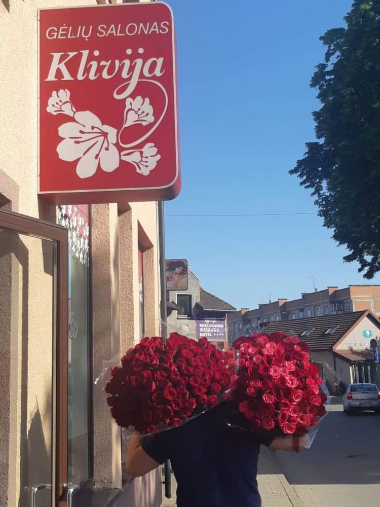 Klivija, gėlių salonas