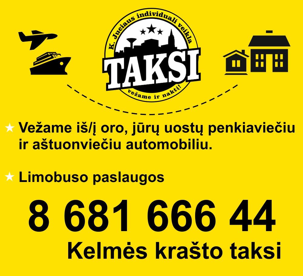 Taksi, K. Juciaus IVV