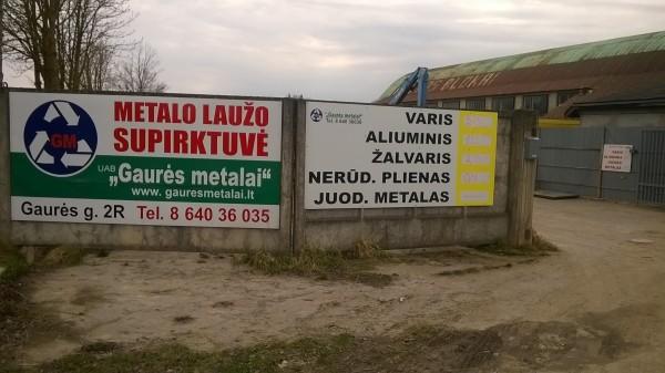 Gaurės metalai, UAB
