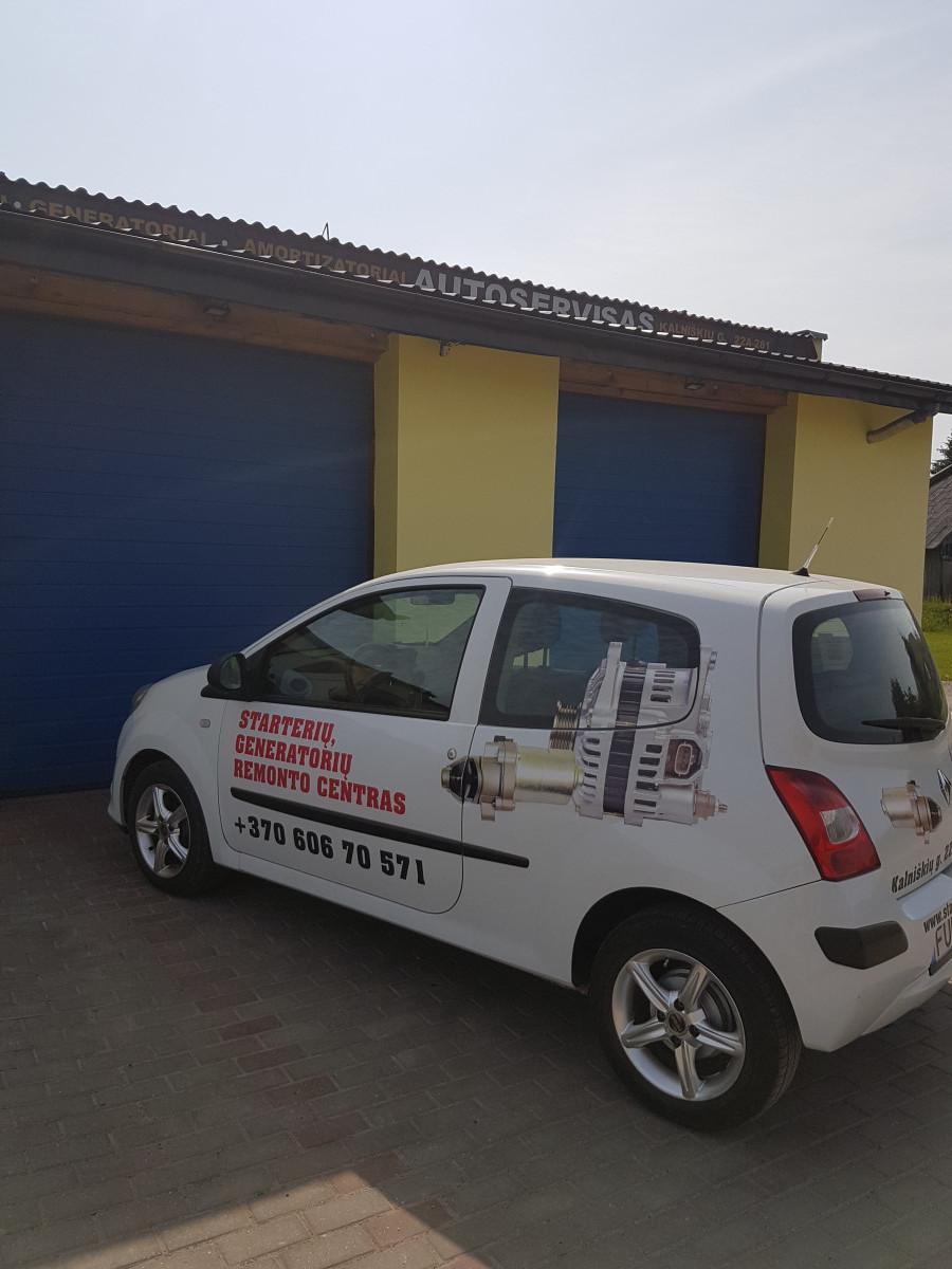 Starterių, generatorių remonto centras
