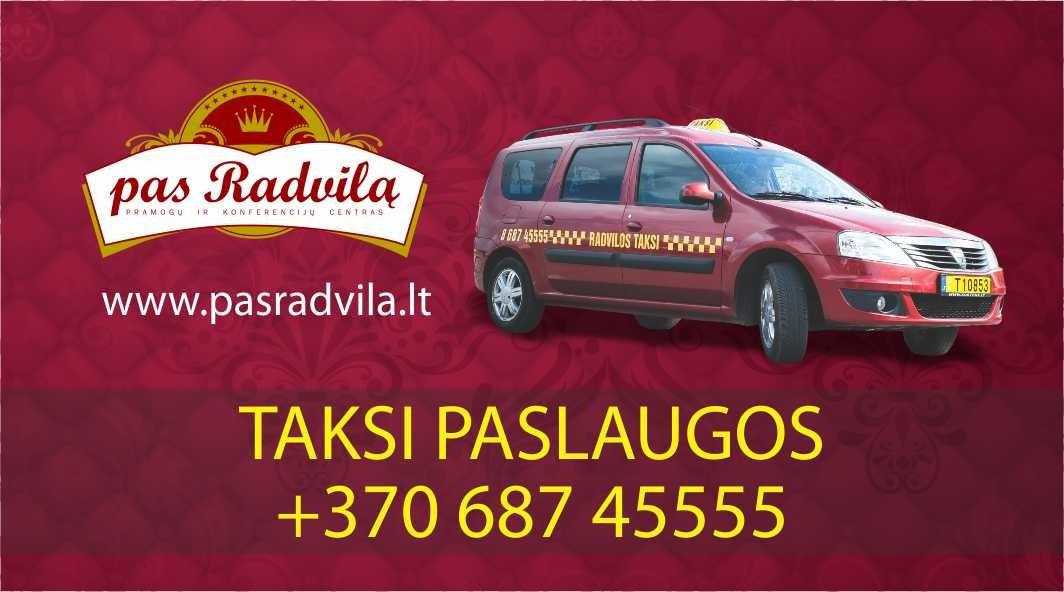 Radvilos taksi