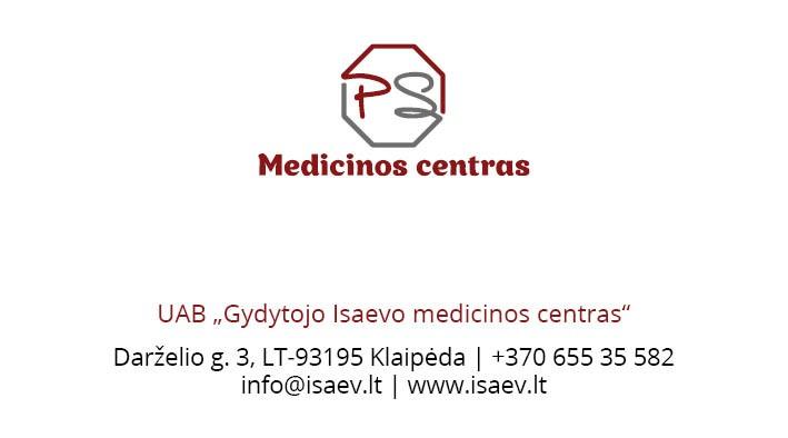 PS medicinos centras, gydytojo Isaevo medicinos centras