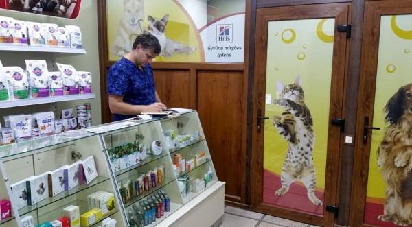 Laimingas ūsas, veterinarijos klinika