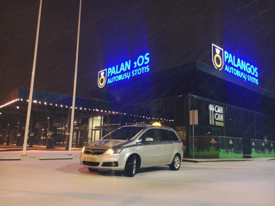 Taksi Palangoje