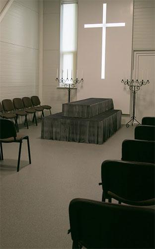 Paširvinčio laidotuvių namai