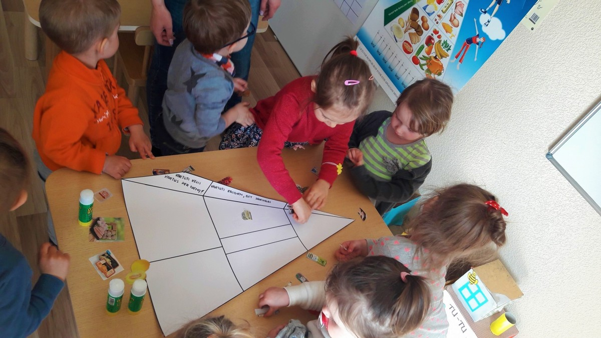 Vaikų giraitė, privatus vaikų darželis