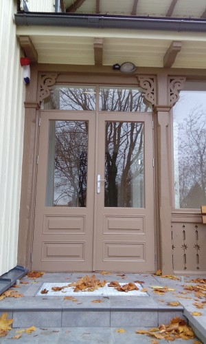 Povilo langai