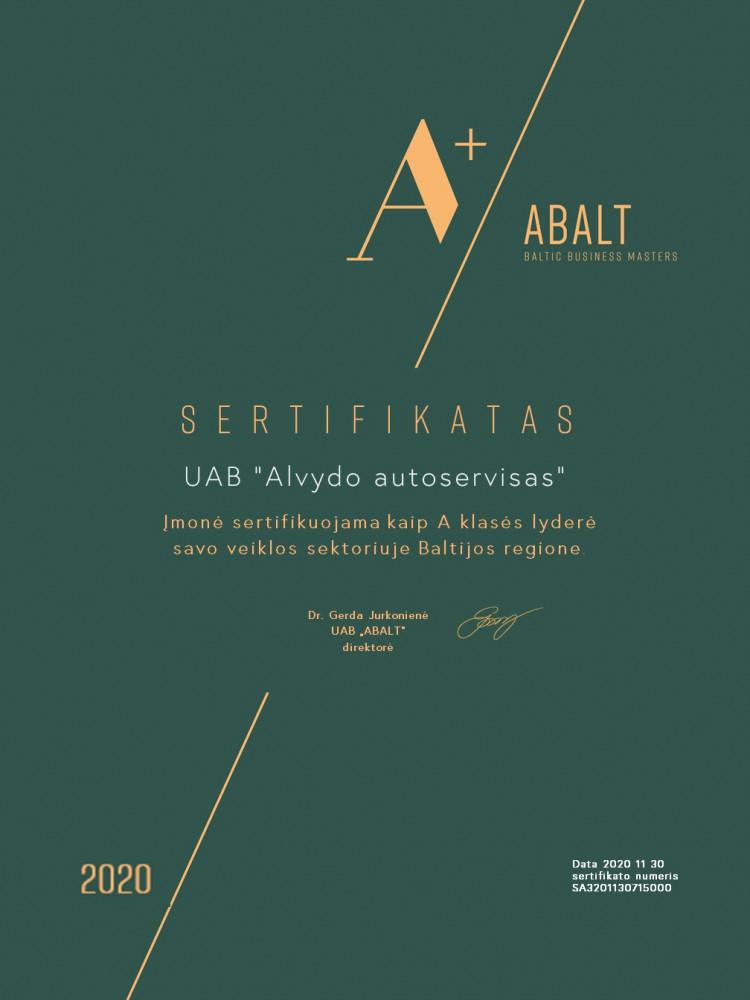 Alvydo autoservisas, UAB