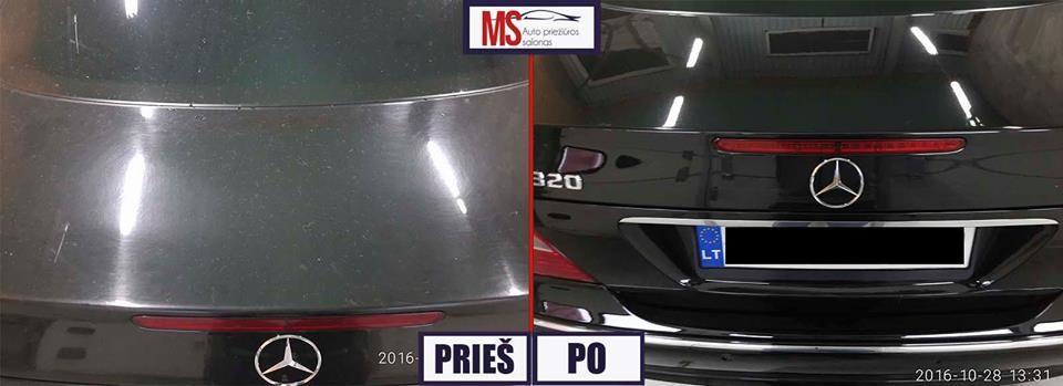 Ms automobilių priežiūros salonas
