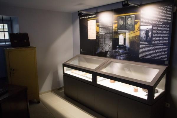 Tremtinių ir politinių kalinių kančių namų ekspozicija
