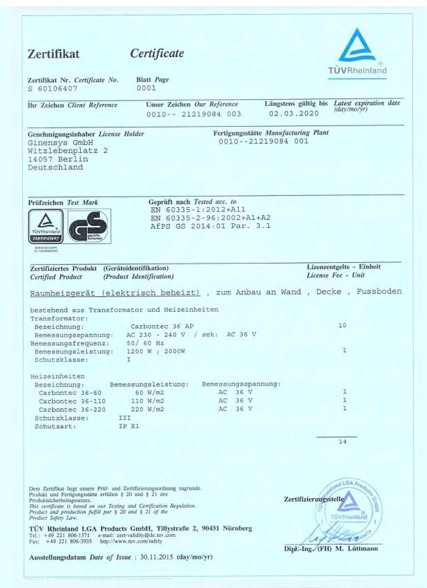 Karbonteko sistema, UAB