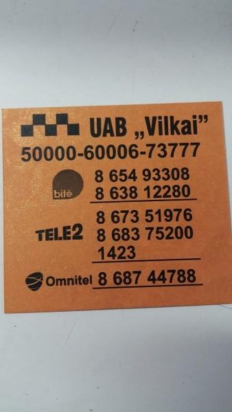 Vilkai, UAB