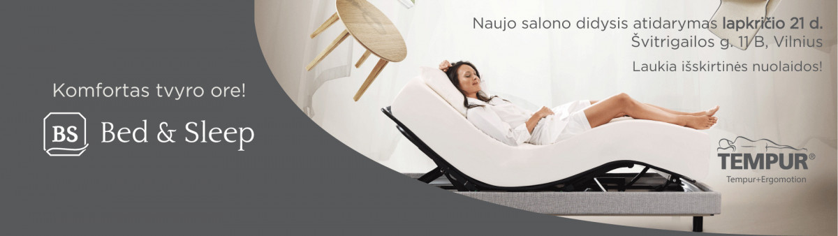 "Bed&Sleep, salonas, UAB ""Techpra"""