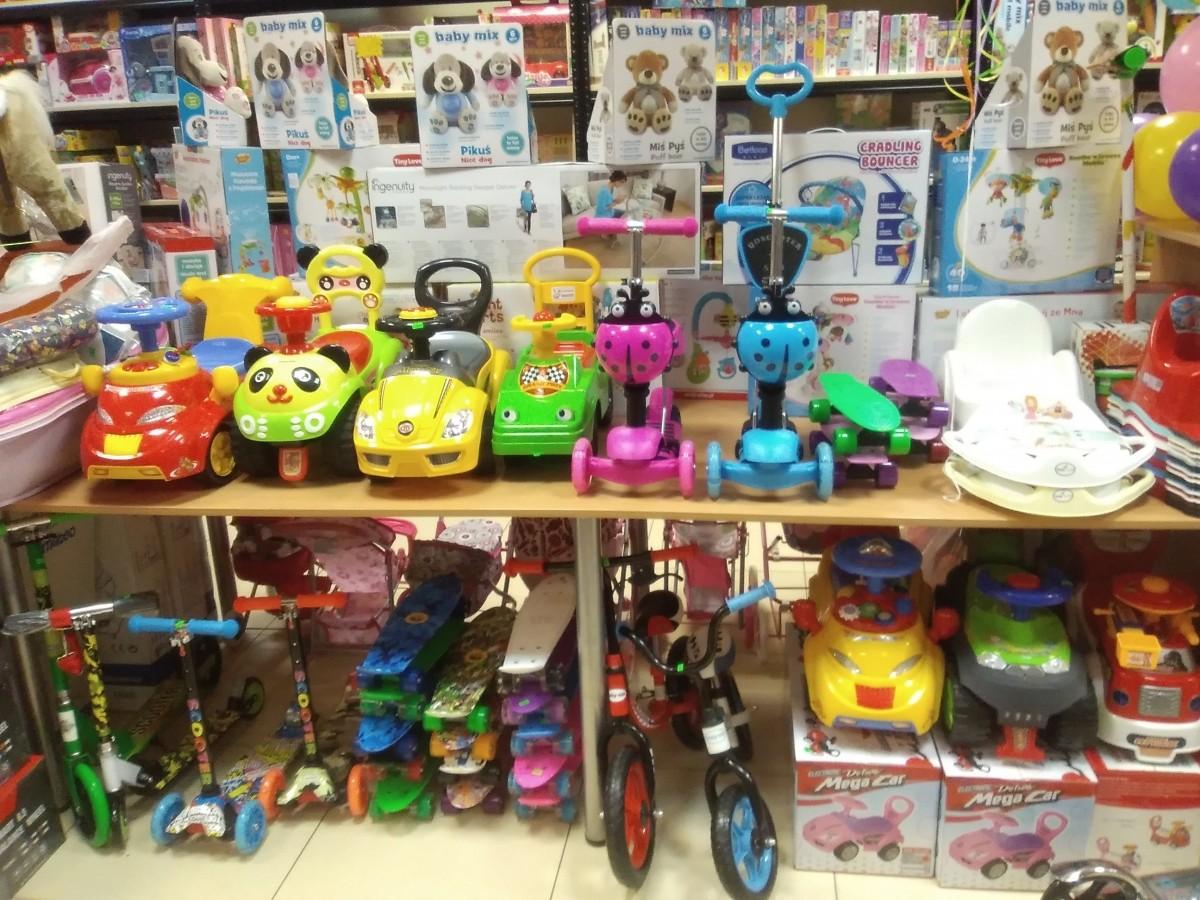 Aitvariukas, vaikiškų prekių ir žaislų parduotuvė