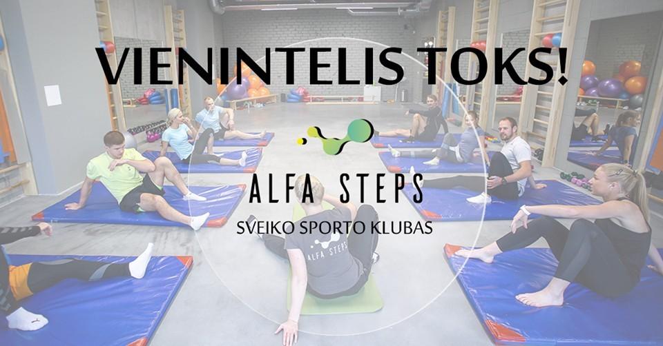 Alfa Steps, sveiko sporto klubas
