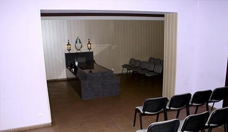 Gedulas, laidojimo paslaugų biuras, šarvojimo salė