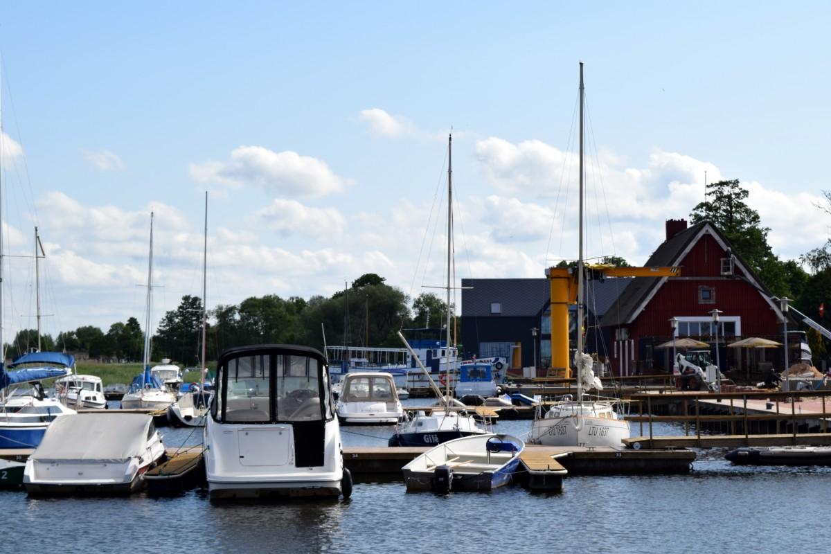 Dreverna, mažųjų laivų uostas
