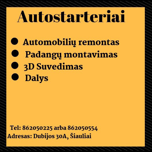 Autostarteriai, UAB