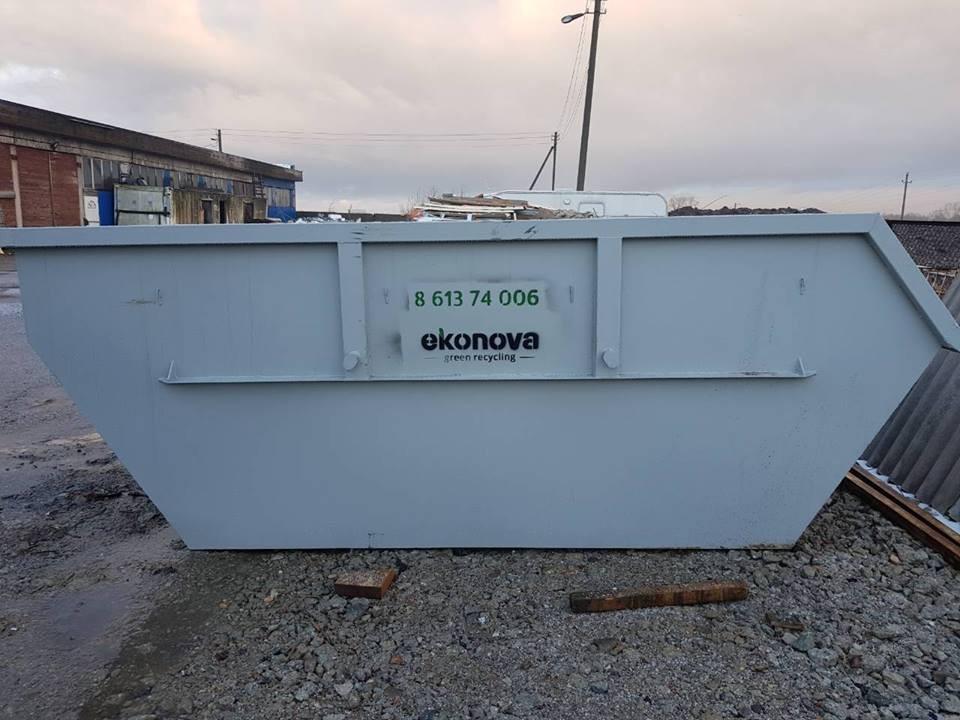 Ekonova, atliekų tvarkymo įmonė, filialas