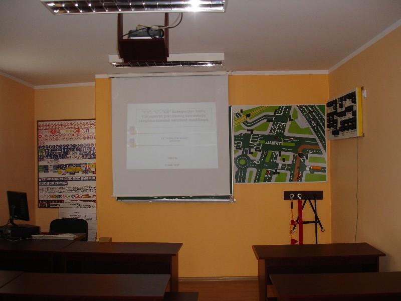 Vairavimo klasė, filialas