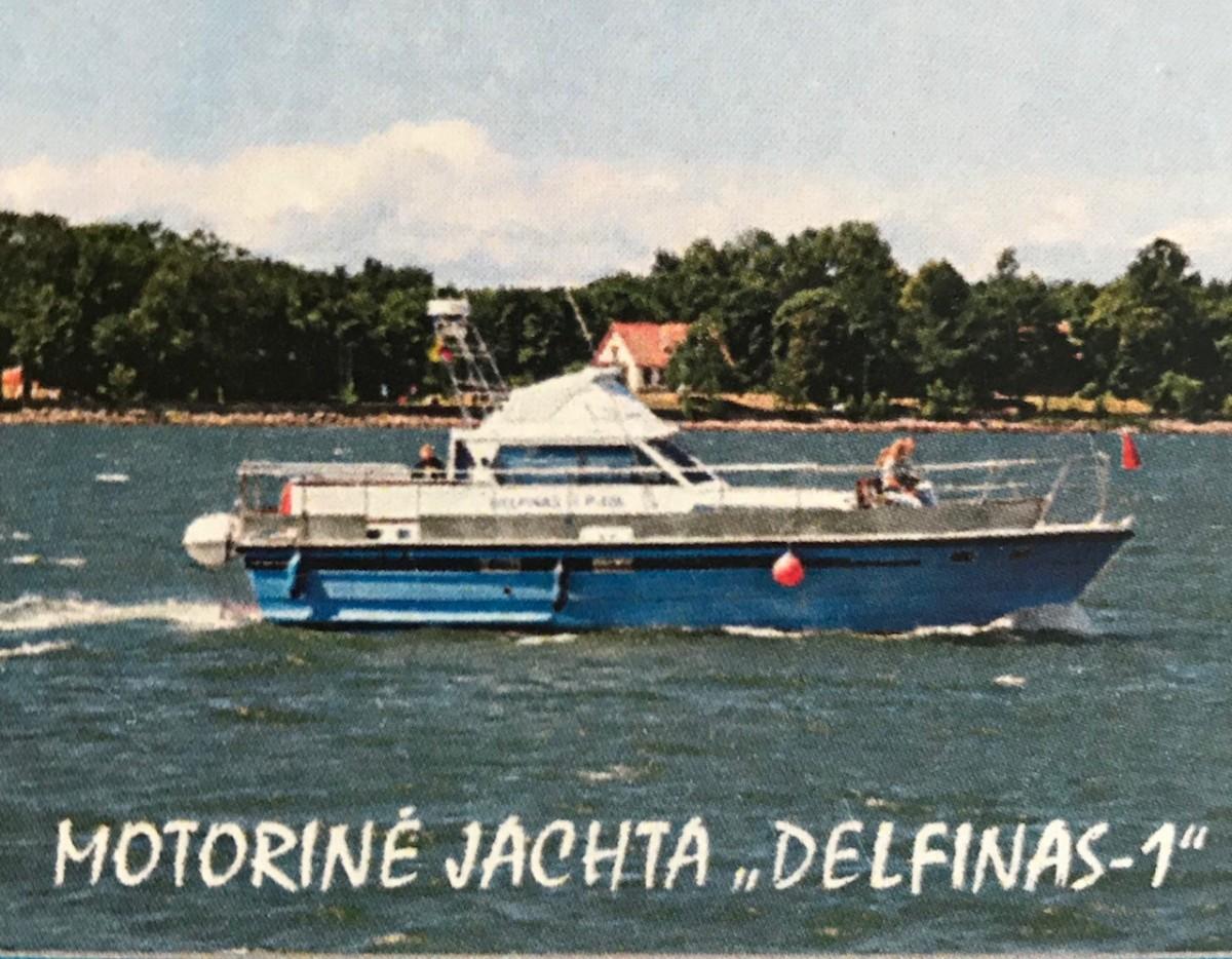Delfinas 1, laivas