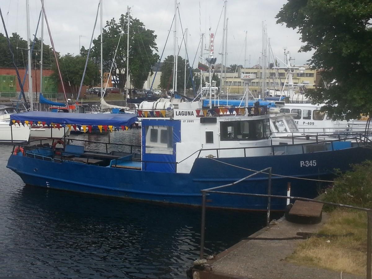 Lagūna, laivas