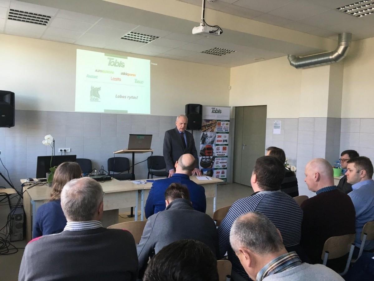 Variklinių transporto priemonių sektorinio praktinio mokymo centras, Klaipėdos paslaugų ir verslo mokykla