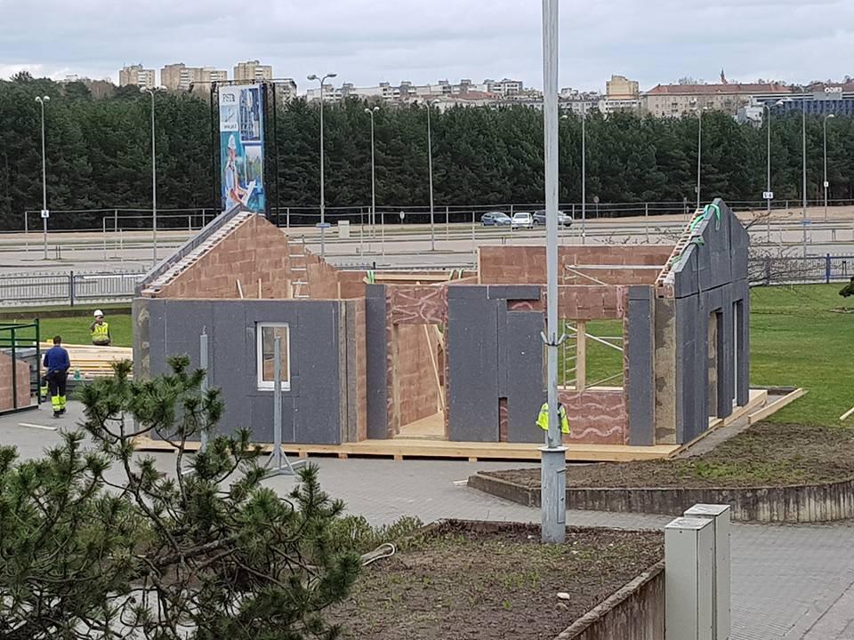 Modulinės sienos, UAB