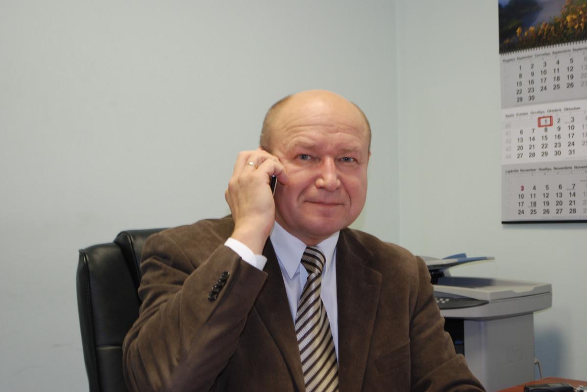 Verslo konsultantas V. Damulevičius
