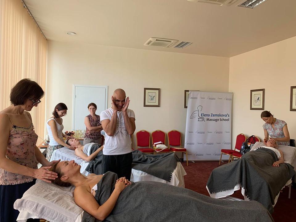 Elena Zemskova massage school Lietuva