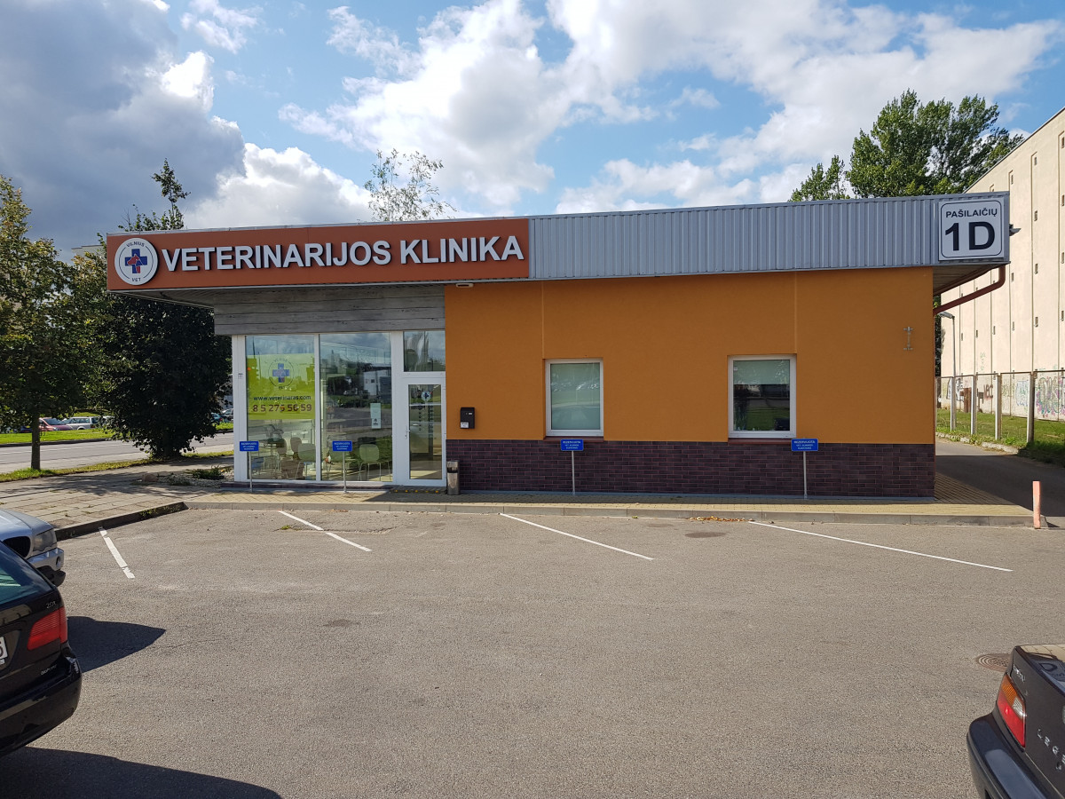 """Vilnius Vet, Pašilaičių veterinarijos klinika-vaistinė, UAB """"Žvėryno veterinarijos gydykla"""""""