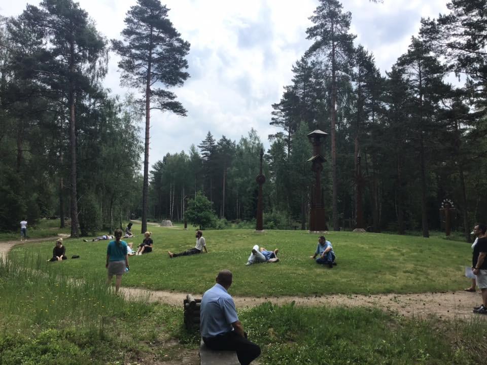 Baltų mitologijos parkas, labirintai, Baltų lieptas, VŠĮ