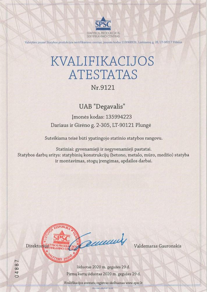 Degavalis, UAB