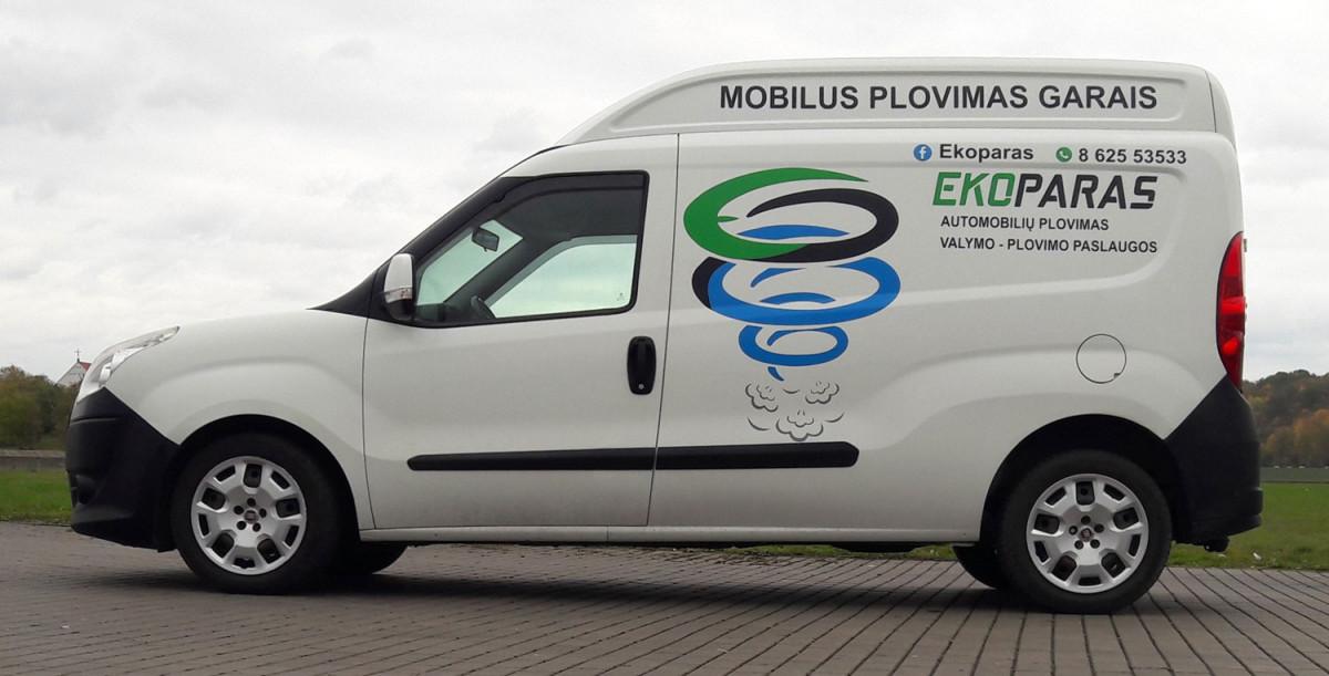 Ekoparas - mobili plovykla Kaune, L. Griesiaus IVV