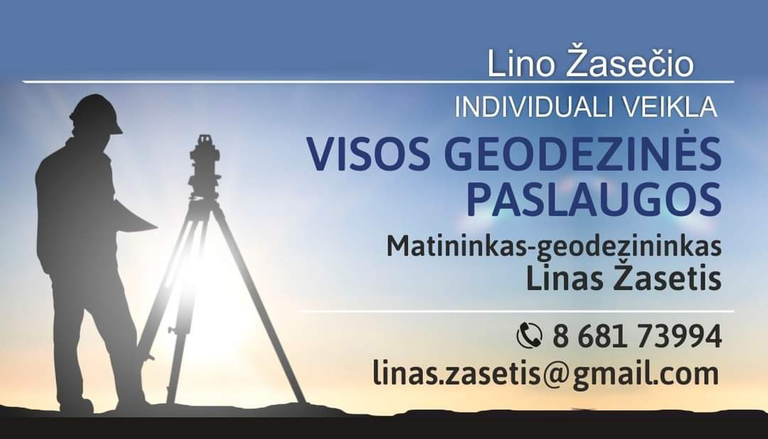 Lino Žasečio geodezinės paslaugos