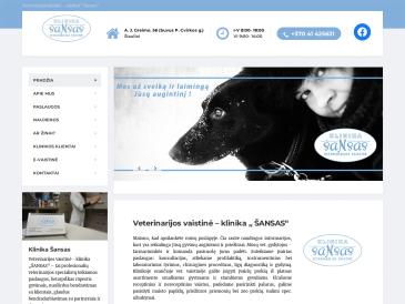 """Šansas, veterinarijos klinika-vaistinė, UAB """"Minauta"""""""