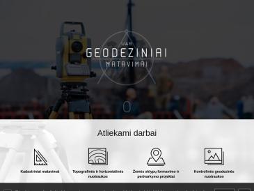 Geodeziniai matavimai, UAB