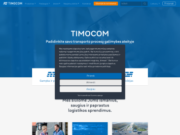 Krovinių ir transporto birža TimoCom