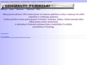 Originalūs paminklai, S. Surgelio įmonė