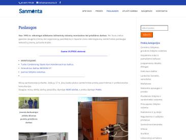 Sanmonta, specializuota santechnikos prekių parduotuvė, UAB