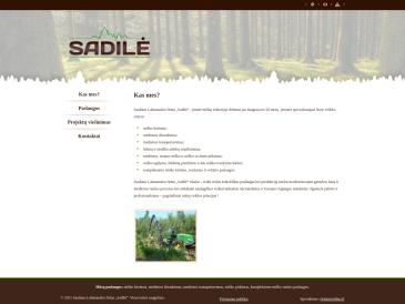 Sadilė, Sauliaus Labanausko firma