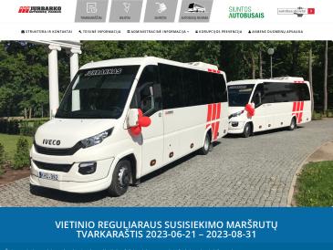 "Jurbarko autobusų stotis, UAB ""Jurbarko autobusų parkas"""
